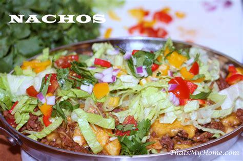 nachos recipes nachos recipe dishmaps