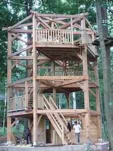 Constructeur Cabane Dans Les Arbres : construire cabane enfant arbres construire une cabane en bois dans les arbres de son jardin ~ Dallasstarsshop.com Idées de Décoration