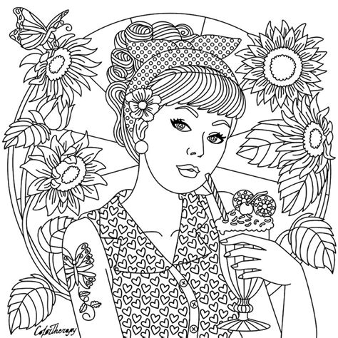 Coloring Therapy by On Color Therapy App Coloring Pages For Adults