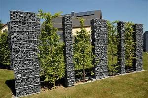 Gabionen Sichtschutz Terrasse : zaunteam sichtschutz gabionen steins ulen ~ A.2002-acura-tl-radio.info Haus und Dekorationen