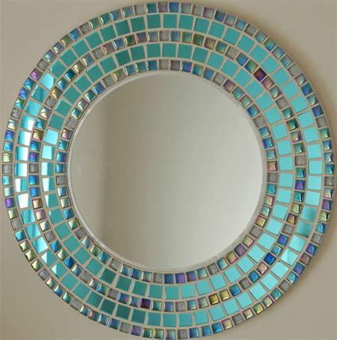 mosaic mirrors ideas  pinterest