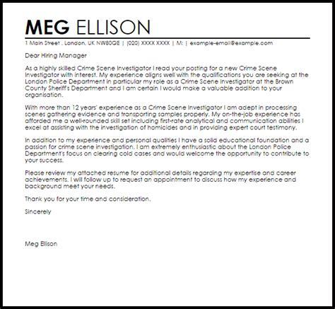 cover letter background investigator position