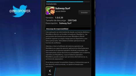 aptoide install android apps apk on blackberry 10