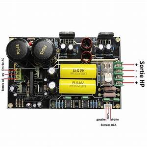 Lm3886 Stereo Audiophile Amplifier Board 2x68w    4 Ohm
