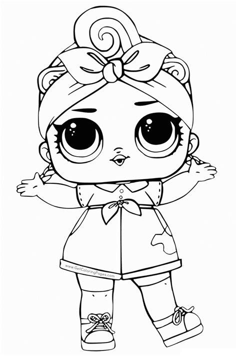 lol da colorare gratis disegni da colorare bambola lol sta