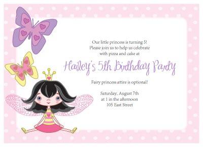 fairy party invitations diy printable fairy  butterfly kit