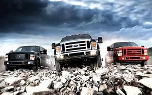Ford Pick Up Parking Wallpaper Wide Wallpaper