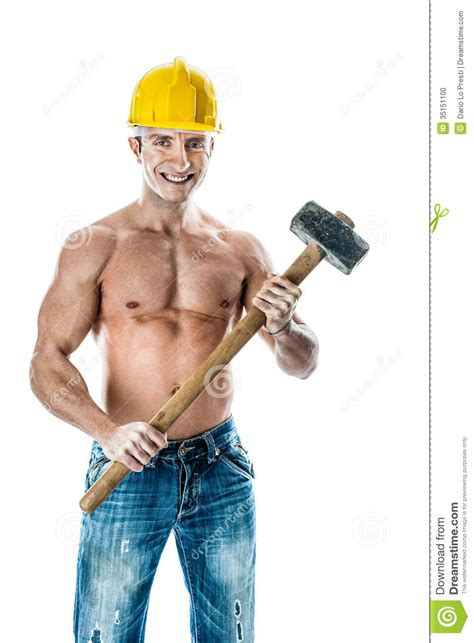 big hammer stock photo image
