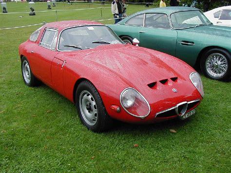 Alfa Romeo TZ1 Zagato. MotoBurg