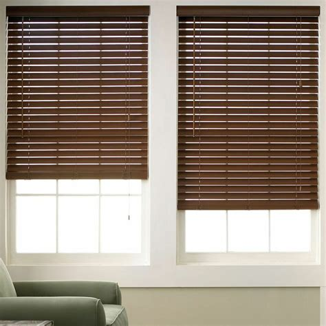 Colored Window Blinds Shades by Wood Grain Faux Wood Blinds 6 Colors Free Shipping Ebay