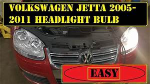 2005 To 2011 Volkswagen Jetta Headlight Bulb Replacement