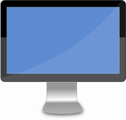Desktop Computer Lcd Pixabay Monitor Vector Graphic