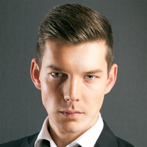 Men's Hairstyles for Fine Hair   The Slick Back
