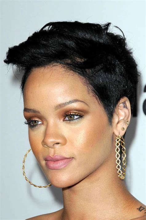 Rihanna Mohawk Hairstylesjpg Pictures to Pin on Pinterest