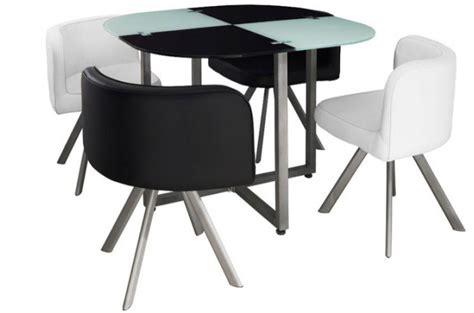 table a manger avec chaise table repas damier avec 4 chaises tables 224 manger pas cher