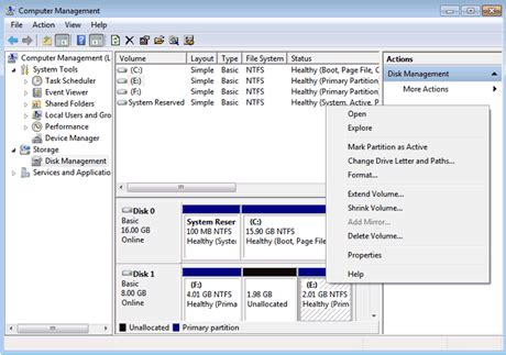 2018 tips extend windows 7 system partition with windows 7 disk manager easeus