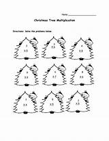 Math Worksheets Christmas Multiplication Printable Maths Printables Ks1 Worksheet Coloring Grade 3rd Lessons 2nd Code Secret Sheets Tree Worksheeto Addition sketch template