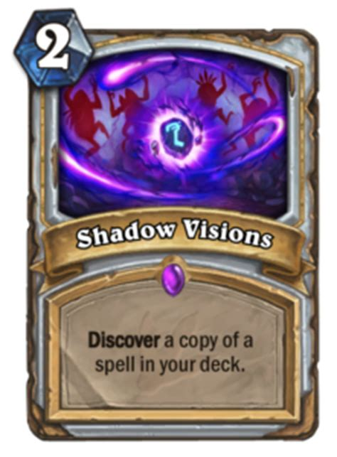 Priest Decks Hearthstone Ungoro by Journey To Un Goro Shadow Visions Guardian S