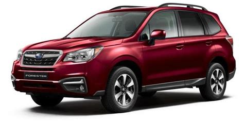 subaru forester red 2018 2017 2 5i subaru forester venetian red pearl lp