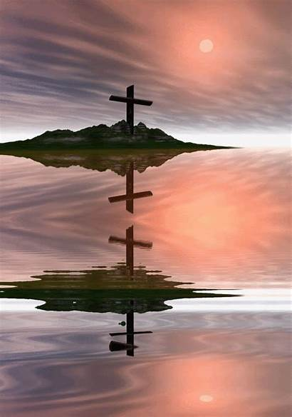 Gifs Religious Animated Cross Christian Reflection Abyss