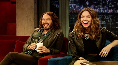 russell brand jimmy fallon katharine mcphee meets russell brand late night with