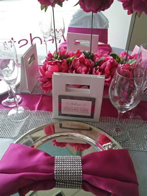 fuchsia wedding table decorations 53 black white and pink wedding table settings picture of