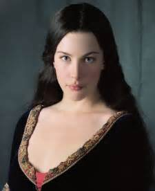 TV and movies: Liv Tyler as Arwen