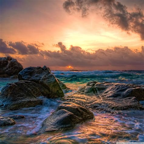 Aruba Sunrise 4k Hd Desktop Wallpaper For 4k Ultra Hd Tv