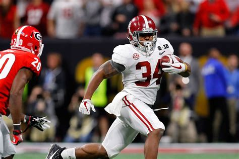 damien harris   alabama highly drafted rb pro