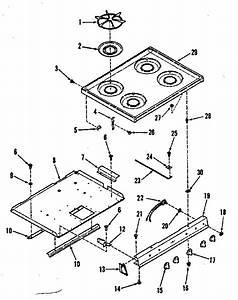 Kenmore 9117378610 Gas Range Parts