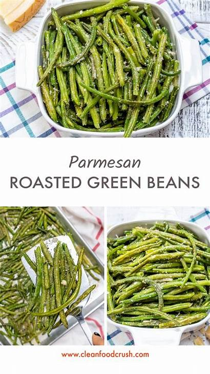 Roasted Beans Parmesan Cleanfoodcrush Clean Eating Recipe