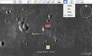 Explore the Moon in Google Earth