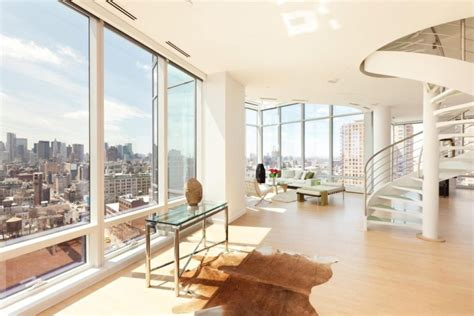amazingly stylish duplex penthouses