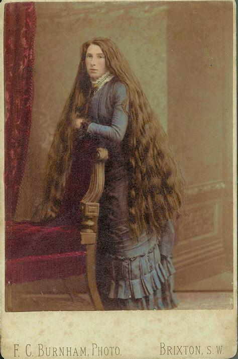 long hair   victorian era images  pinterest