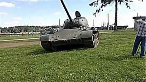 WW2 Russian Tank T-44 - YouTube