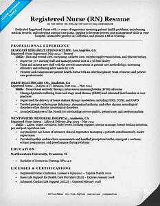 registered nurse rn resume sample tips resume companion With how to make a nursing resume
