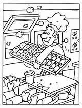 Coloring Baker Pages Kleurplaten Eten Kleurplaat Preschool Coloringpages Kleuters Kinderen Knutselen Milou Juf Al Voor Coloriage Bakker Uw Kleuterschool Dagopvang sketch template