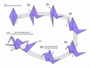 Martin U0026 39 S Origami  Flapping Bird