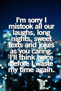 I thought you cared. I was wrong | favorite quotes ...