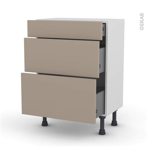 meuble cuisine alin饌 meuble bas cuisine 3 tiroirs meuble de cuisine bas gris 3 tiroirs d lice x x cm leroy merlin meubles bas cuisine luxe meuble de cuisine bas gris