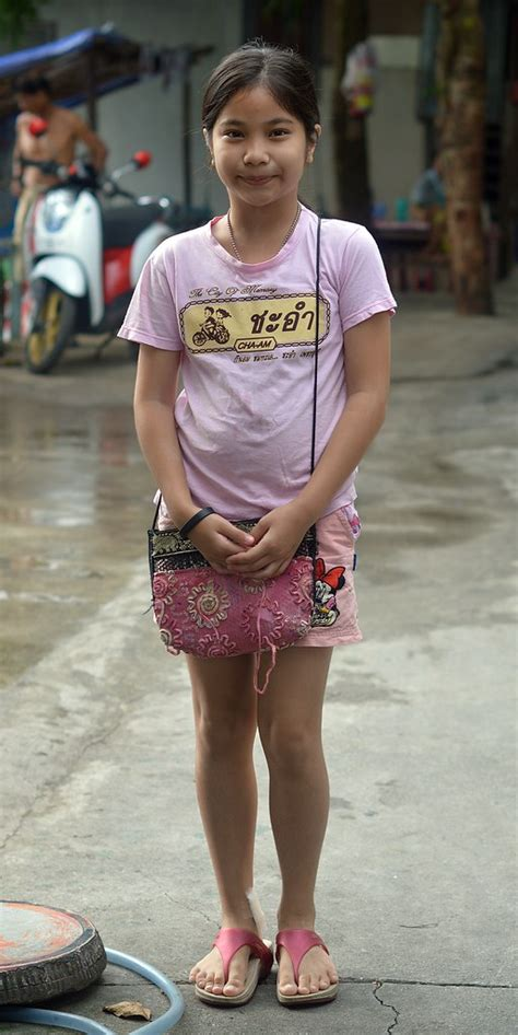 Pretty Preteen Girl The Foreign Photographer ฝรั่งถ่