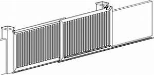 Portail 3 Metres : portail metres ~ Premium-room.com Idées de Décoration