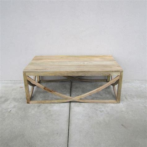 u shape cross coffee table nadeau new orleans