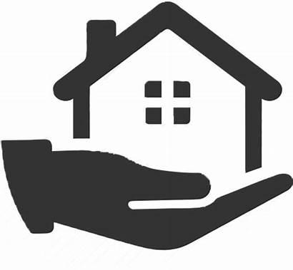 Estate Clipart Management Icon Clip Apartment Services