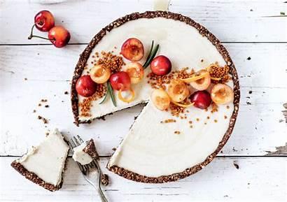 Cheesecake Cherry Vanilla Bean Raw Paleo Cashew