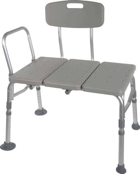 tub bench transfer plastic transfer bench with adjustable backrest drive