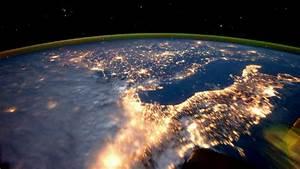 Earth    Night    Satellite Shot