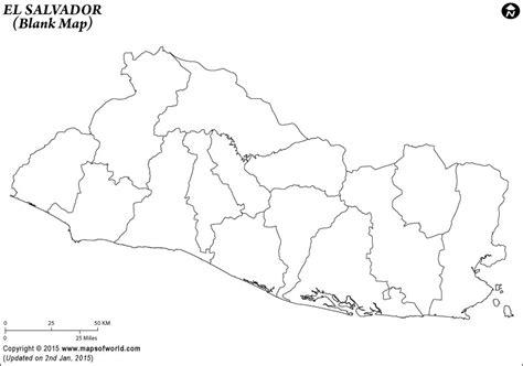 Coloring Map El Salvador