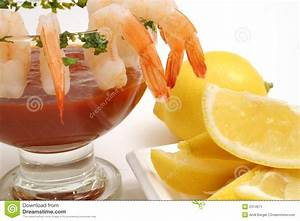 Fancy shrimp cocktail stock image. Image of gold, parsley ...