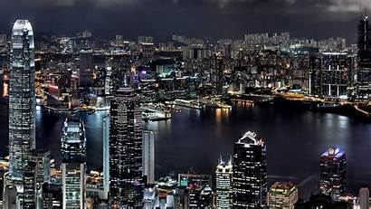 Night Wallpapers Background Iphone Cityscape Screen Subwallpaper